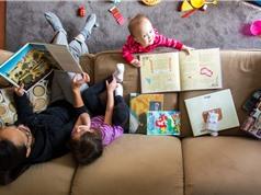 Lợi ích của thư viện tại gia với trẻ