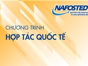 Tiếp nhận hồ sơ tham gia chương trình hợp tác song phương NAFOSTED - FWO năm 2020