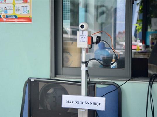 Đại học Đà Nẵng chế tạo thiết bị đo thân nhiệt từ xa