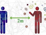 'Khoảng cách hai mét' có đủ để ngăn lây nhiễm Covid-19?