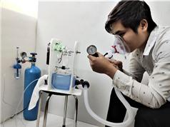 ĐH Điện lực chế tạo thử nghiệm máy thở không can thiệp