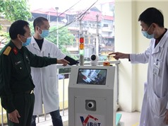 Robot VIBOT-1a: Dự kiến có thể thay thế 3-5 nhân viên y tế