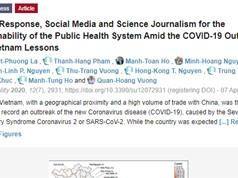 Công bố nghiên cứu toàn cảnh phản ứng của Việt Nam trước đại dịch