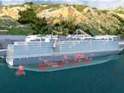 Hệ thống truyền động chạy hydrogen cho tàu container