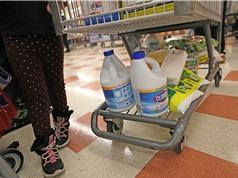 Mỹ: Số vụ ngộ độc chất tẩy rửa gia tăng trong thời dịch bệnh