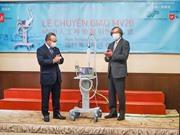 Metran chính thức bàn giao máy thở MV20 cho Việt Nam