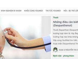 Ra mắt cổng thông tin y tế với 100% nội dung do bác sỹ, dược sĩ biên soạn