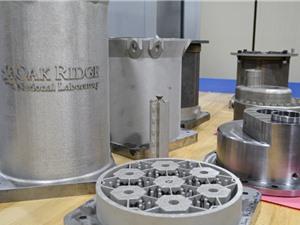 Mỹ phát triển lõi lò phản ứng làm bằng công nghệ in 3D