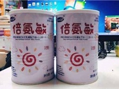 Sữa công thức giả tại Trung Quốc khiến nhiều trẻ em bị phù đầu