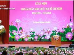 Bài phát biểu của Tổng bí thư, Chủ tịch nước tại Lễ kỷ niệm 130 năm ngày sinh chủ tịch nước Hồ Chí Minh