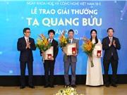 Lễ kỷ niệm ngày KH&CN Việt Nam 18/5: Khoa học tham gia giải quyết những bài toán của đất nước