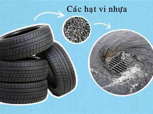 Lốp xe: Nguồn phát thải vi nhựa ít người biết đến