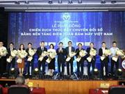 Chiến dịch thúc đẩy chuyển đổi số bằng nền tảng điện toán đám mây Việt Nam