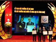 Khởi động Giải thưởng Hồ Chí Minh và Giải thưởng Nhà nước về KH&CN lần thứ 6
