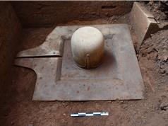 Các nhà khảo cổ Ấn Độ tái phát hiện đài linga lớn nhất và còn nguyên vẹn nhất tại Mỹ Sơn