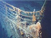 Trục vớt máy điện báo từ xác tàu Titanic
