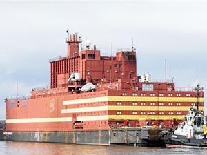 Nga khai thác thương mại nhà máy điện hạt nhân nổi đầu tiên