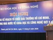 Hội nghị phổ biến Giải thưởng Hồ Chí Minh và Giải thưởng Nhà nước về KH&CN ở khu vực phía Nam