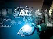 Nghiên cứu và ứng dụng AI còn rất khiêm tốn