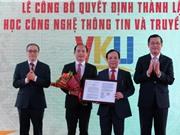 Quyết định thành lập ĐH CNTT và truyền thông Việt-Hàn