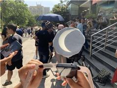 Hơn 600 người quan sát nhật thực vành khuyên tại USTH Space Day