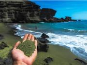 """""""Cát xanh"""" chứa olivin hút cacbon khỏi không khí"""