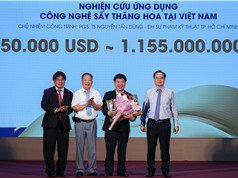 Công nghệ sấy mới và bộ kit SARS-CoV-2 nhận Giải thưởng Bảo Sơn