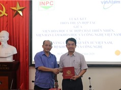 VINATOM ký thỏa thuận hợp tác với Viện Hóa học các hợp chất thiên nhiên