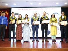 10 tài năng trẻ KH&CN nhận giải Quả cầu vàng