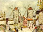 Những chiếc cối xay gió và dấu ấn về Paris một thời