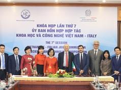 Hợp tác KH&CN Việt Nam - Italy giai đoạn 2021-2023: 8 lĩnh vực ưu tiên