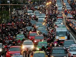 Giao thông gây ra gần một nửa lượng bụi siêu mịn PM 0.1 tại Hà Nội