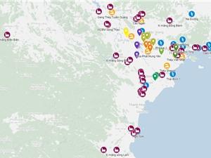 Lập bản đồ các nhà máy và làng nghề có nguy cơ gây ô nhiễm không khí