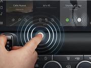 Jaguar Land Rover phát triển màn hình cảm ứng không chạm