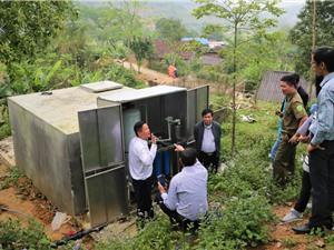 Mô hình thu trữ nước sinh hoạt
