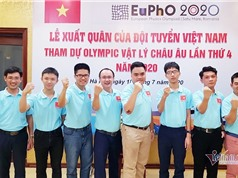 Việt Nam đoạt 5 huy chương Olympic Vật lý châu Âu