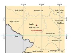 16 trận động đất và dư chấn đã xảy ra tại huyện Mộc Châu (tỉnh Sơn La)