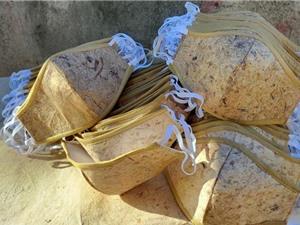 Khẩu trang làm từ cây chuối sợi giúp giảm rác thải nhựa trong thời đại dịch