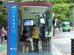 Nhà chờ xe buýt thông minh chống lây nhiễm Covid-19
