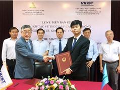 VKIST và Viện Ứng dụng Công nghệ ký kết hợp tác nghiên cứu và thương mại hóa sản phẩm