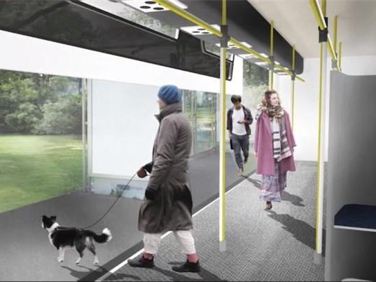 Xe buýt giãn cách xã hội thiết kế cho thời COVID-19