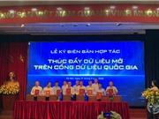 Khởi động Cổng dữ liệu quốc gia data.gov.vn