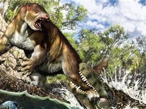Vết cắn 13 triệu năm của cá sấu cổ đại
