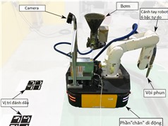 Hệ thống robot in 3D di động chế tạo bê tông kích thước lớn