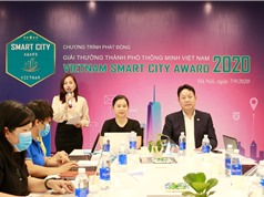 Giải thưởng mới cho các đô thị, khu đô thị, tòa nhà thông minh