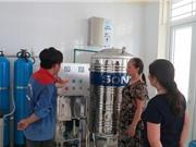 Lắp đặt gần 400 hệ thống lọc nước nhiễm arsen ở đồng bằng sông Hồng
