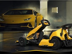 Chiếc go-kart mang dáng dấp Lamborghini
