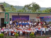 Đoàn Thanh niên Bộ KH&CN tặng 3 phòng học cho vùng cao