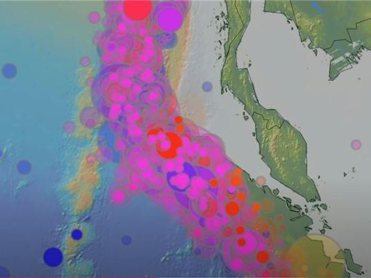 Đo nhiệt độ đại dương bằng âm thanh động đất