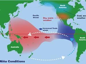 La Nina ảnh hưởng đến thời tiết toàn cầu